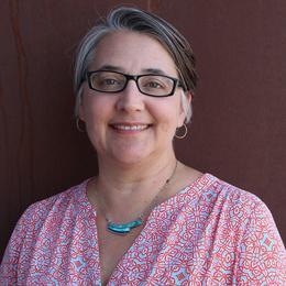 A portrait of Sonia Perillo.